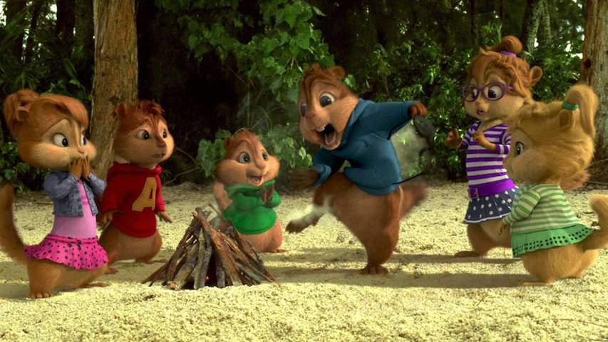 Alvin And The Chipmunks Chipwrecked 2011 Screen Gone