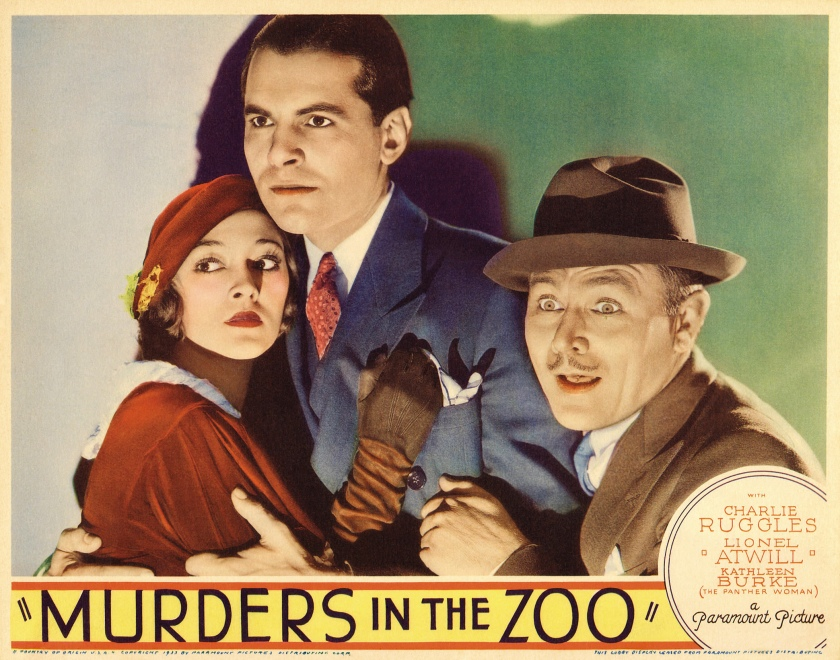 Poster - Murders in the Zoo_02